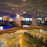 indoor pool custom mural