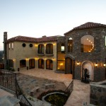 tuscan style home build by the xlart group inc