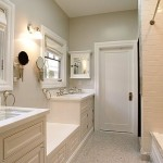 historic renovated bathroom