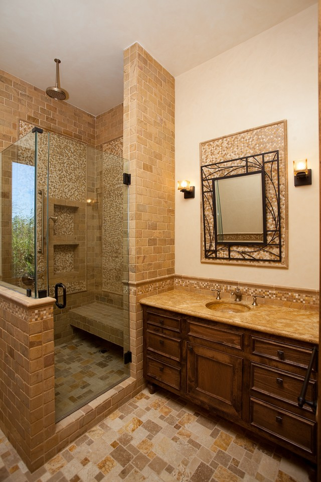 Bathrooms xlart group Tuscan style bathroom ideas