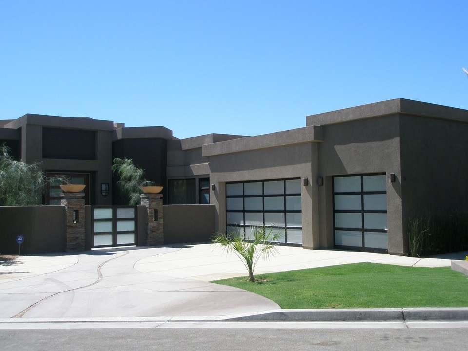 Exterior designs xlart group for Modern house garage design