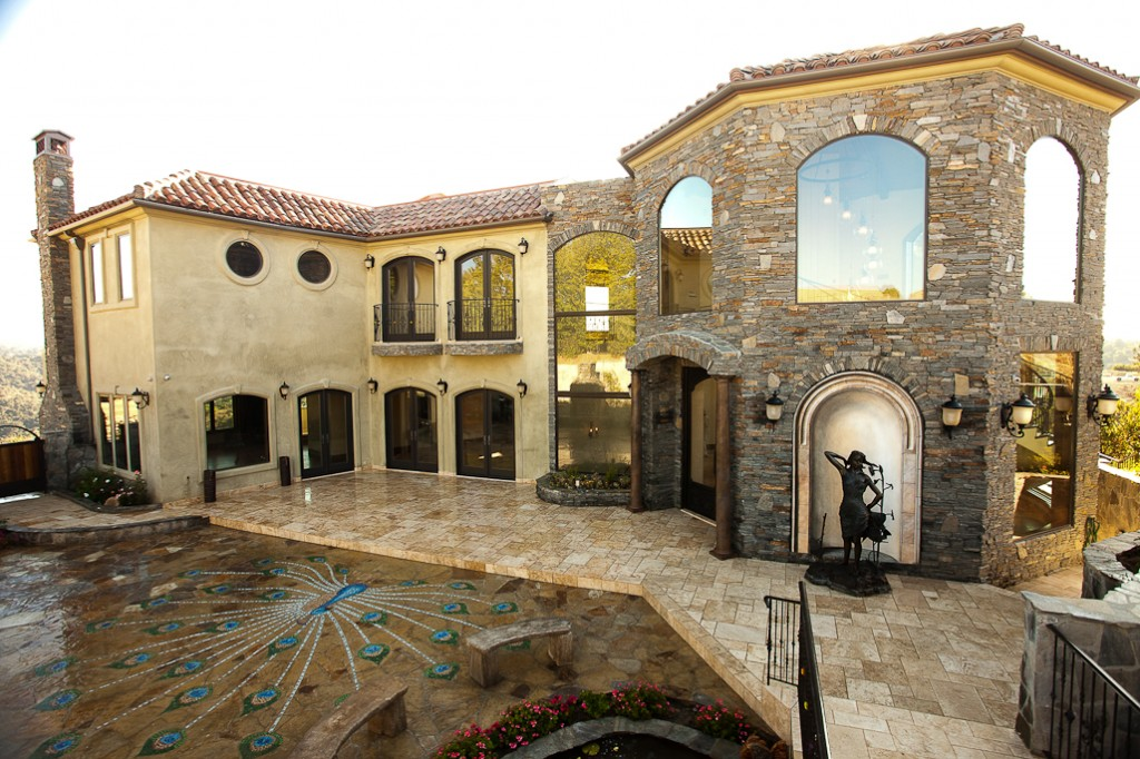 Exterior designs xlart group for Tuscan exterior design