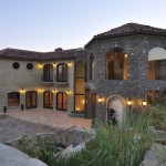 Tuscan style home by the xlart group inc.