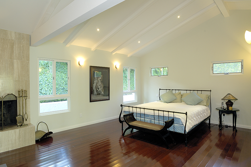 dark hardwood floors bedroom bedroom with dark hardwood