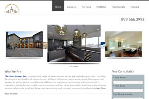 Screen Capture of Xlart Home Page